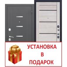"""7,5 GARDA Муар Царга"" лиственница мокко"
