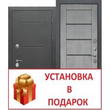 """""""ISOTERMA букле чёрный"""" бетон серый ТЕРМОРАЗРЫВ"""