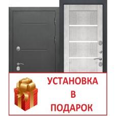"""ISOTERMA букле чёрный"" бетон снежный ТЕРМОРАЗРЫВ"